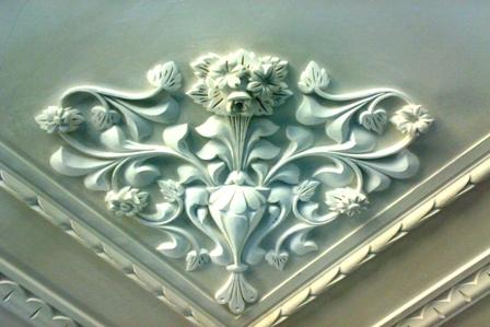 گچبری مدرن سقف