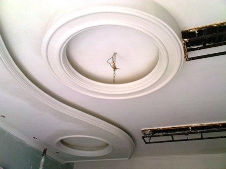 گچبری سقف آشپزخانه