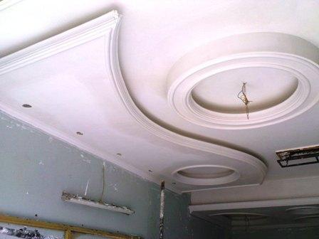 عکس گچبری سقف آشپزخانه